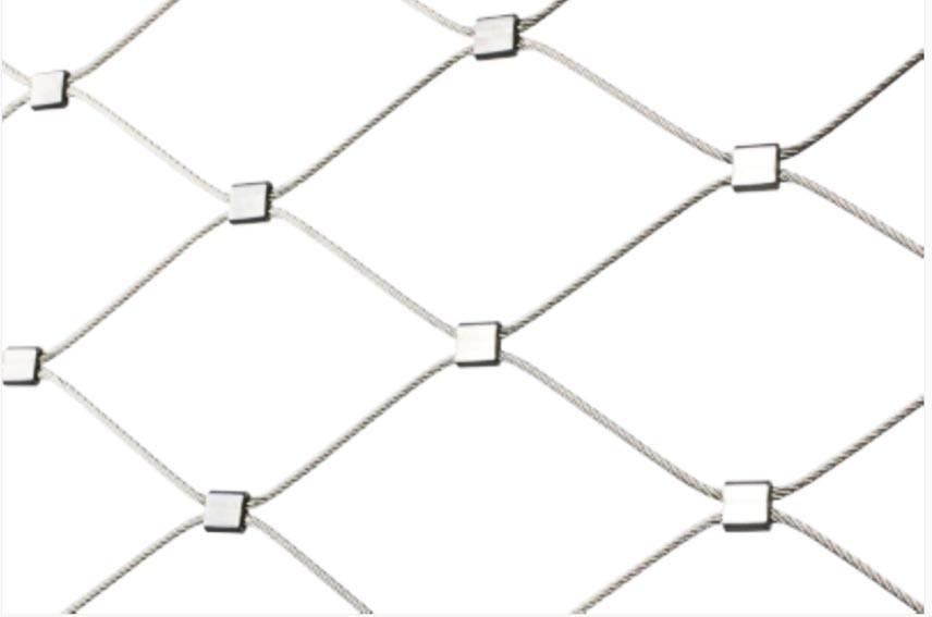 Rope-ferrule-mesh instruction