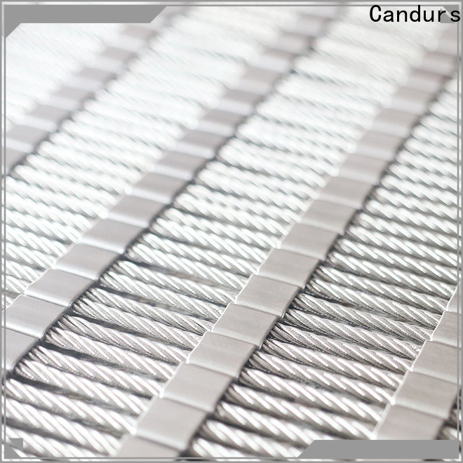 stainless steel mesh balustrade prefabricated factory direct