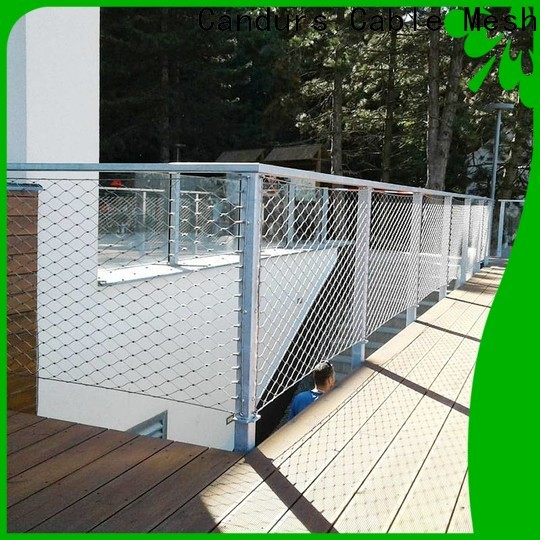 Candurs stainless steel zoo mesh easy-installation bulk supply