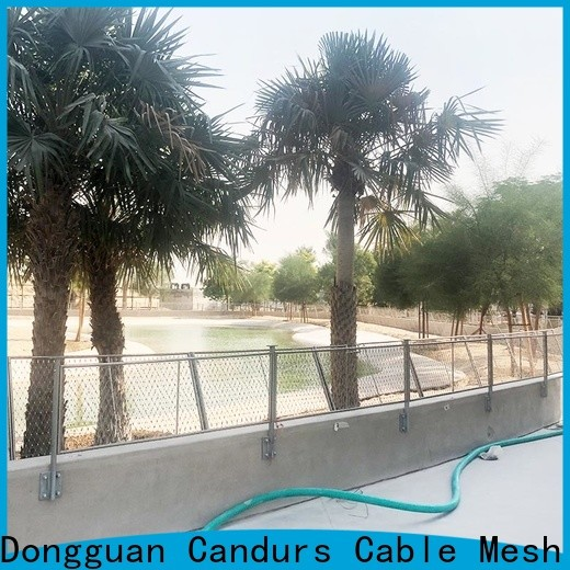 Candurs quality-assured helideck perimeter netting prefabricated factory direct