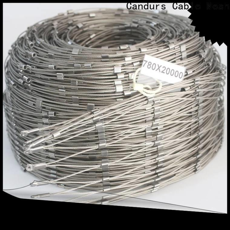 Candurs quality-assured helideck perimeter netting for construction