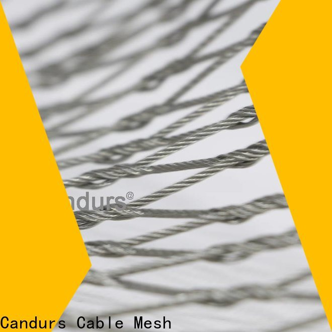 Candurs 2020 top-selling stainless steel bird netting wholesale factory direct