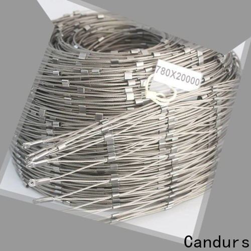 Candurs 2020 top-selling helideck perimeter netting wholesale manufacturing