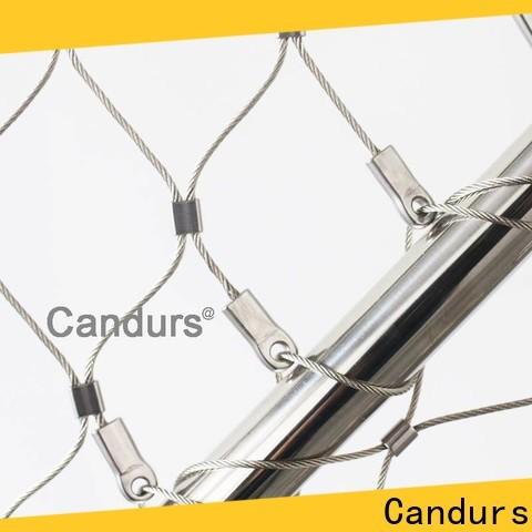 Candurs stainless steel aviary mesh manufacturing
