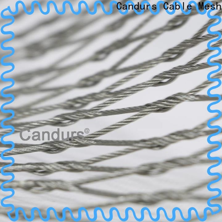Candurs 2020 top-selling stainless steel bird netting for construction