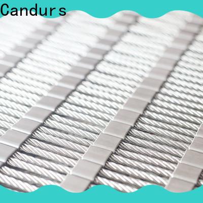 Candurs stainless steel mesh balustrade prefabricated bulk supply