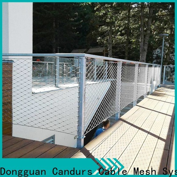 Candurs 2020 top-selling stainless steel zoo mesh prefabricated manufacturing