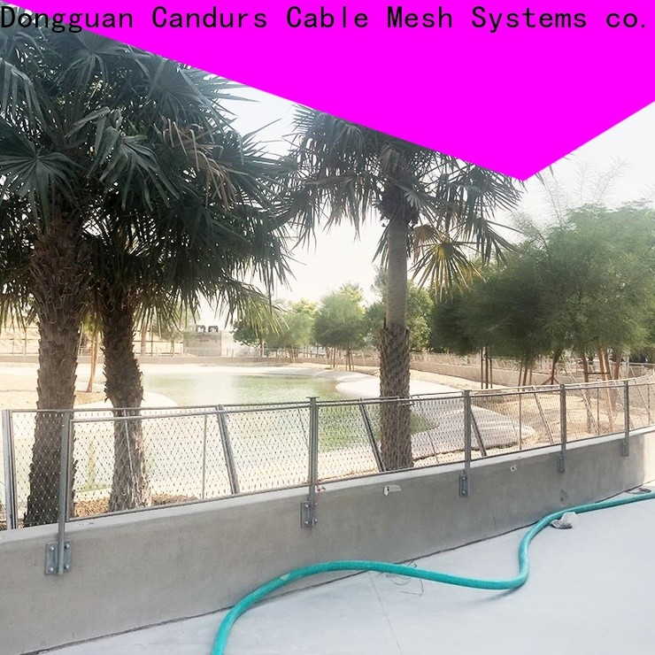 Candurs bridge safety net manufacturing