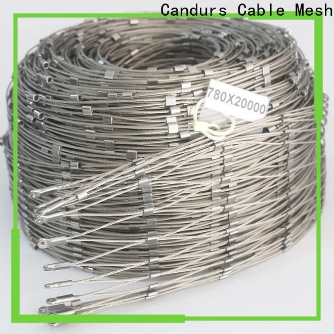 Candurs helideck perimeter netting factory direct