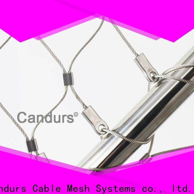 Candurs helideck perimeter netting custom factory direct