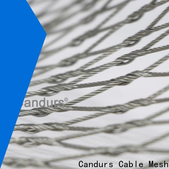 Candurs quality-assured stainless steel zoo mesh factory direct