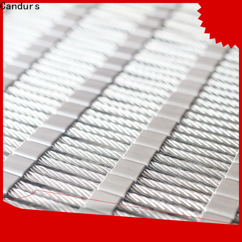 Candurs stainless steel zoo mesh wholesale factory direct