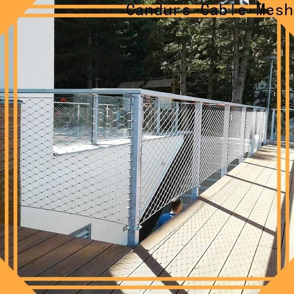 Candurs helideck perimeter netting easy-installation