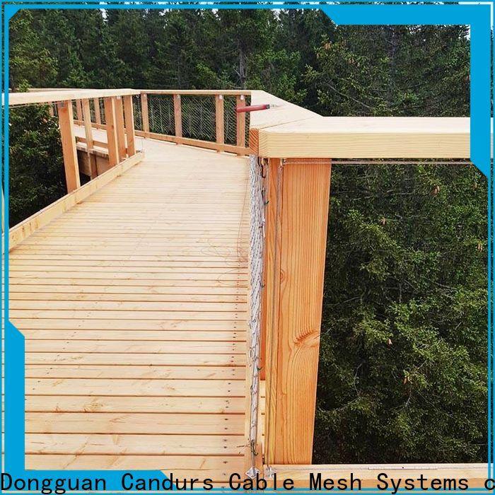 Candurs oem & odm bridge safety net easy-installation for construction
