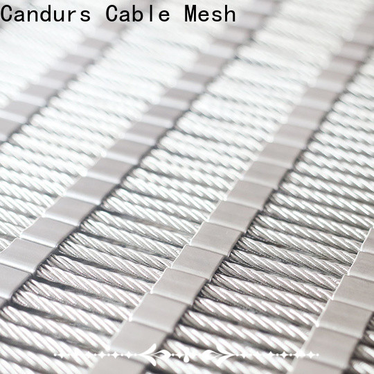Candurs oem & odm balcony protection mesh prefabricated
