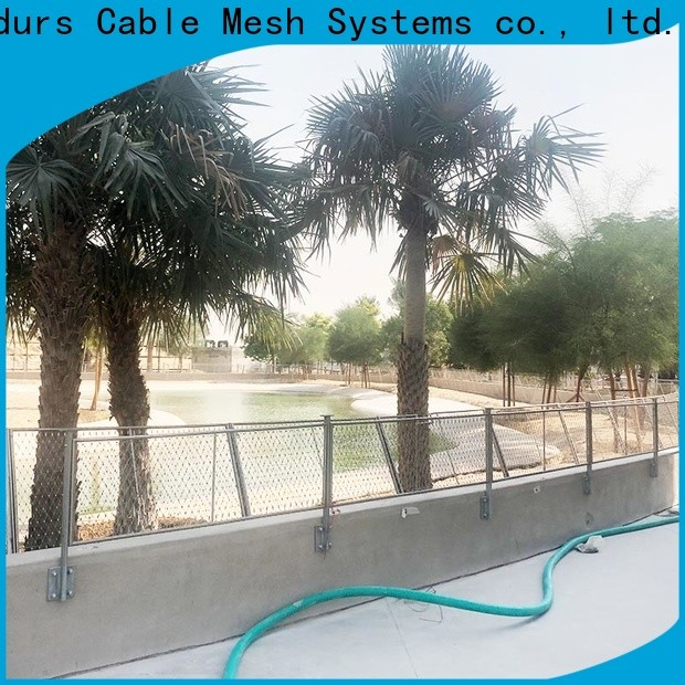 Candurs balcony protection mesh easy-installation