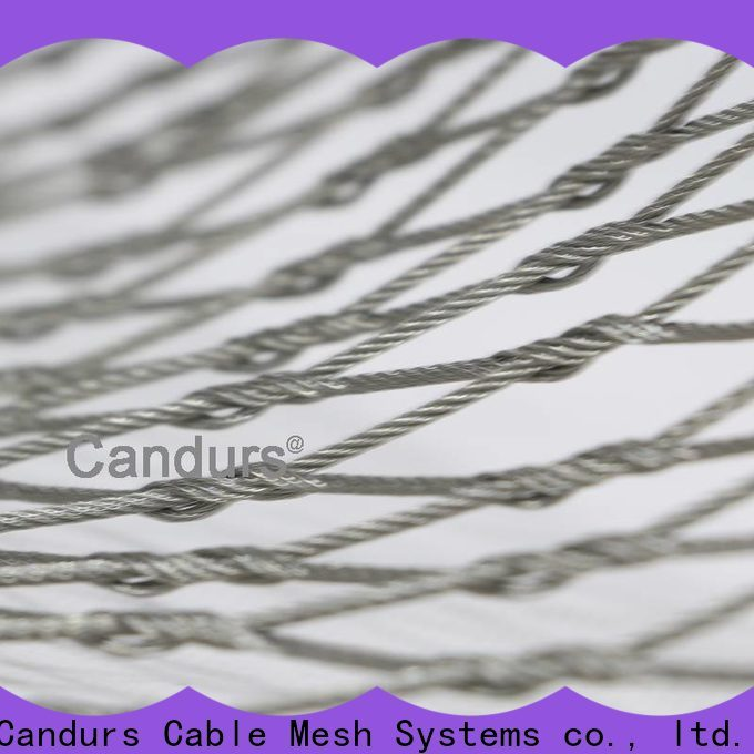 Candurs balcony protection mesh prefabricated factory direct
