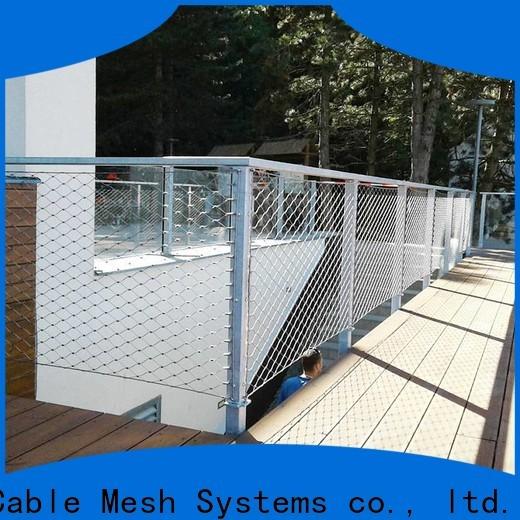 Candurs oem & odm stainless steel mesh balustrade