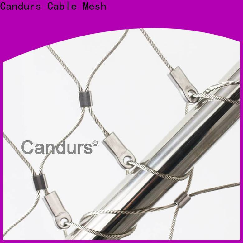 Candurs stainless steel bird netting easy-installation factory direct