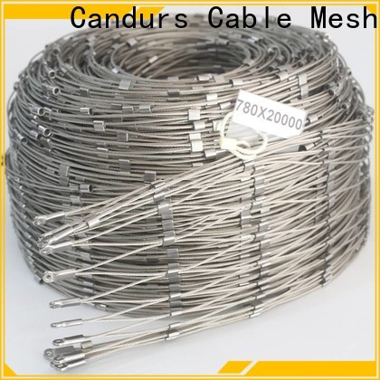 2020 top-selling stainless steel mesh balustrade custom