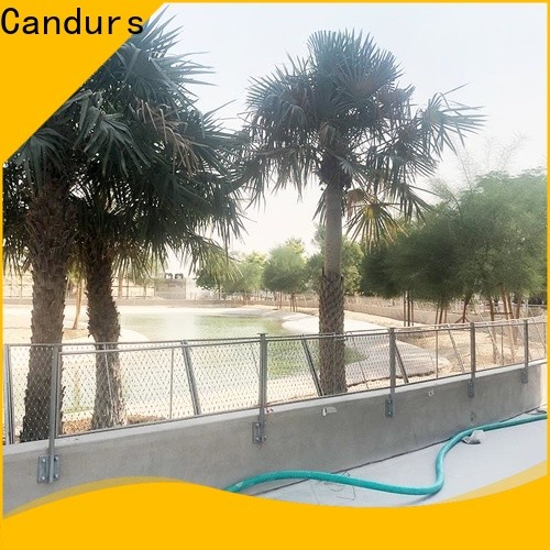 Candurs stainless steel mesh balustrade wholesale factory direct