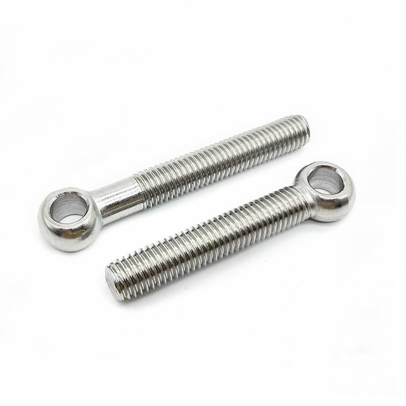 316 Stainless Steel DIN 444 Eye Bolt