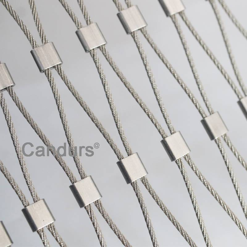 Stainless Steel Wire Rope Mesh Ferrule Type By 2 mm Rope