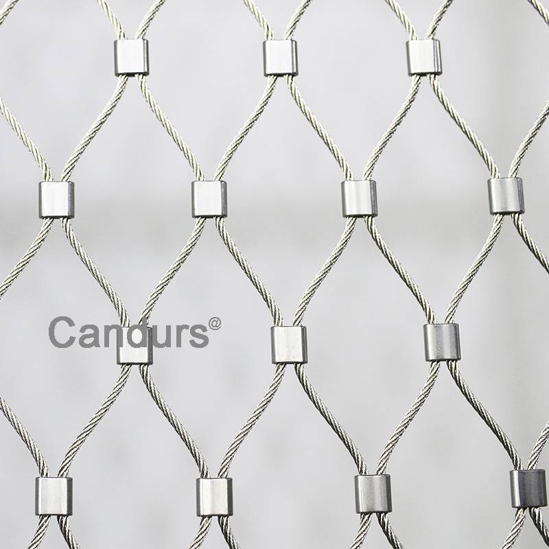 Stainless Steel Cable Mesh Ferrule Type By 3 mm 7 x 19 Rope